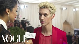 Troye Sivan on Unironically Loving Vegemite | Met Gala 2018 With Liza Koshy | Vogue
