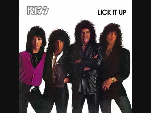 Kiss - Dance All Over Your Face