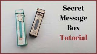 20 Rs DIY Gift Idea | Handmade Gift Box for Boyfriend | How to make a Gift Box