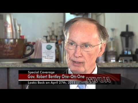 Governor Robert Bentley Interview Part 1