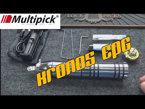 (1076) Review: Multipick Kronos Master Key Electric Pick Gun (EPG)
