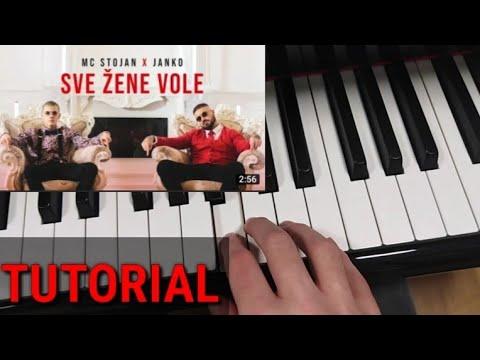 Učim vas svirati: Sve žene vole (MC Stojan & Janko) TUTORIAL