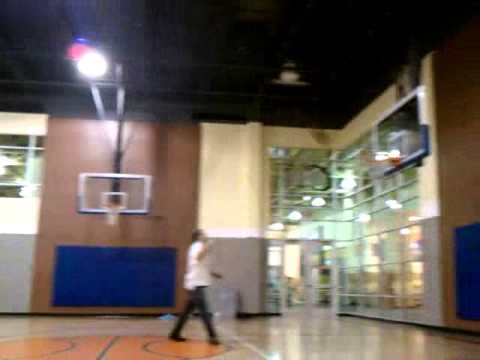 Drunk 3am full court shots at 24 hour fitness