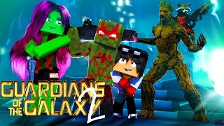 Minecraft: Who's Your Family? OS GUARDIÕES DA GALAXIA ( Guardians of the Galaxy 2 ) [ WIIFEROIZ ]