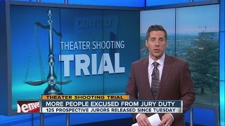video More potential jurors released in Aurora theater shooting trial
