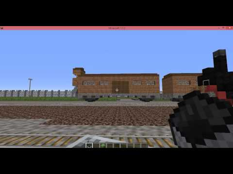 Auschwitz concentration camp minecraft