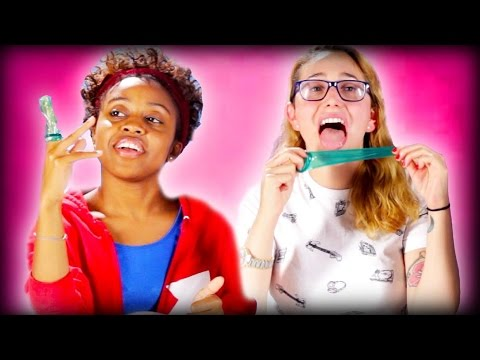 Flavored Condom Taste Test