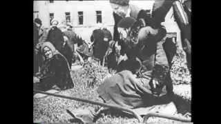 German Prisoners in Leningrad (1942)