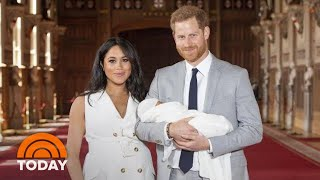Meghan Markle And Prince Harry Welcome Their Royal Baby, Archie Harrison Mountbatten-Windsor | TODAY