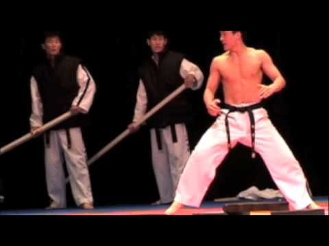 North Korean Tae Kwon Do Team