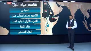 اتفاق إعلان مبادىء بشأن سد النهضة