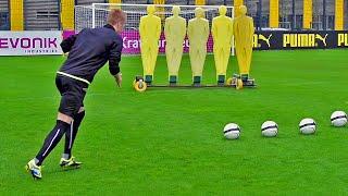 How To Shoot Like Marco Reus | Top Spin Free Kick Tutorial | freekickerz