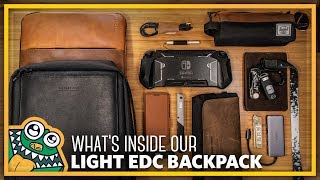 What's in my Everyday Backpack - Waterfield Sutter Slim Backpack - PACKED - List and Overview