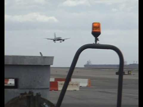 aborted landing at Gibraltar Airport