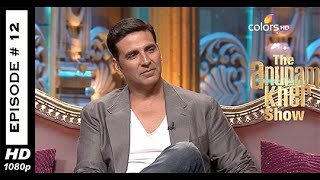 The Anupam Kher Show - Akshay Kumar - Episode No: 12 - 21st September 2014(HD)