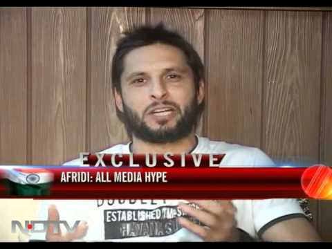 Nothing like India's pyaar, says Afridi