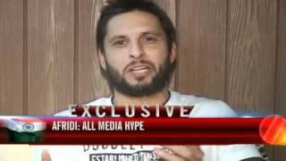 Nothing like India's pyaar, says Afridi