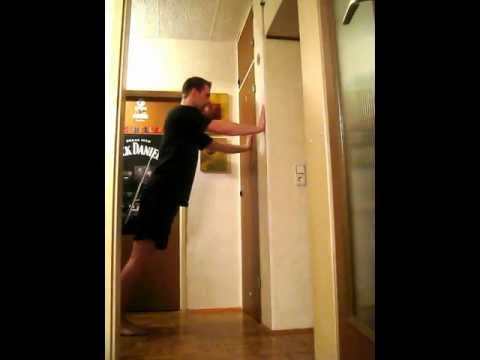 Wall Pushes Wall Push Ups Step 1 of The