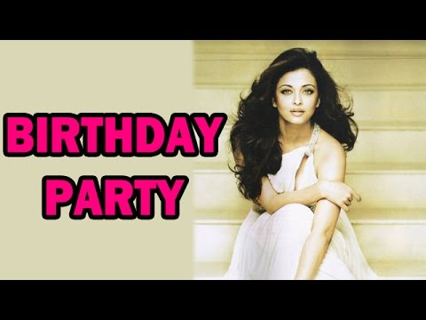 Aishwarya Rai Bachchan celebrates her birthday with Media! - EXCLUSIVE