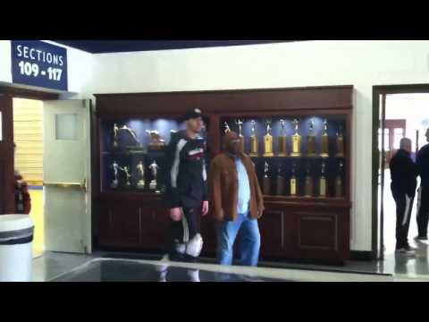 Miami Heat practice at Georgetown University