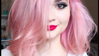How I Dye My Hair Pink