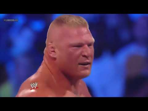 Brock Lesnar vs CM Punk   Video Dailymotion thumbnail