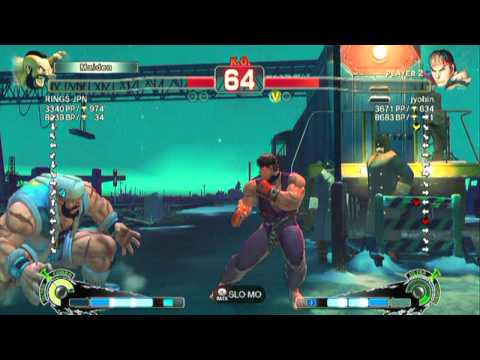 Zangief(RINGS JPN) VS Ryu(jyobin)