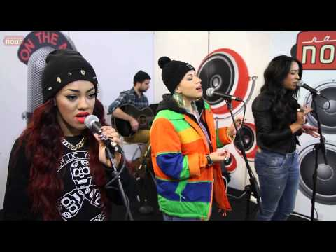 Stooshe live @ Nova Stage (Black Heart & Waterfalls)