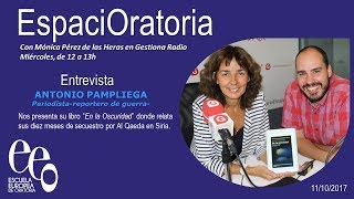 Podcast EspaciOratoria-Entrevista Antonio Pampliega