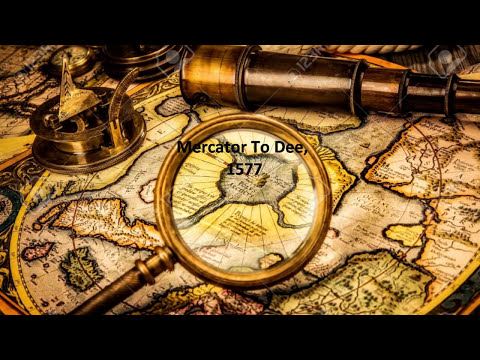 Atlantis Found - Mt. Meru And The Indrawing Seas - Mercator to John Dee -  Flat Earth