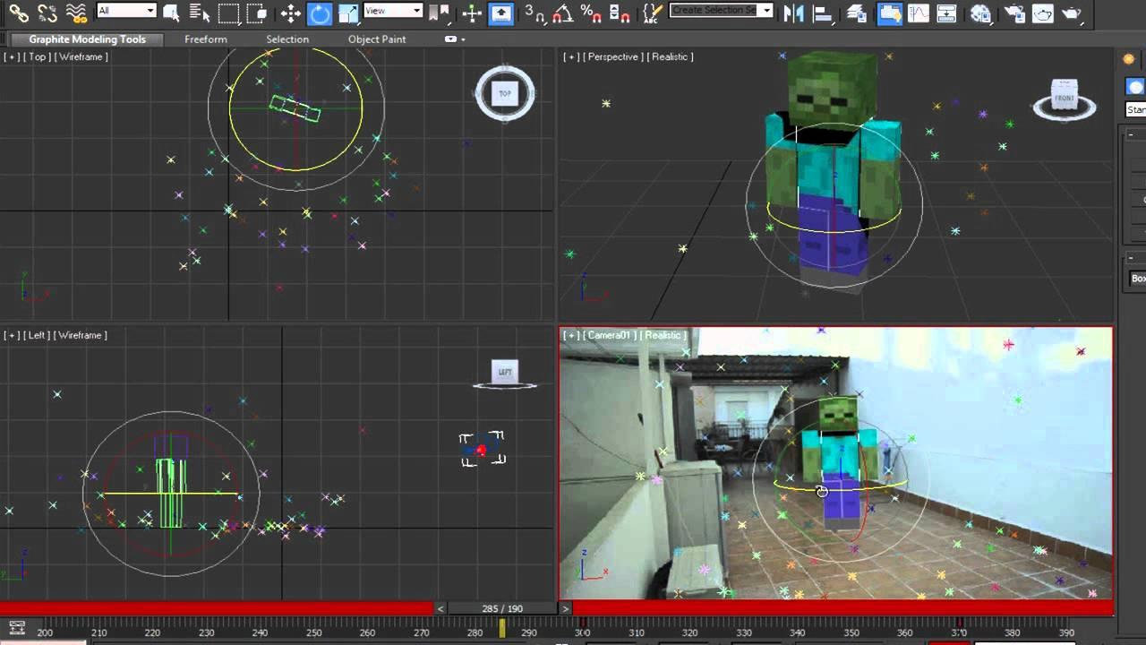 Tutorial zombie minecraft en la vida real parte 3 youtube for Videos de minecraft en la vida real