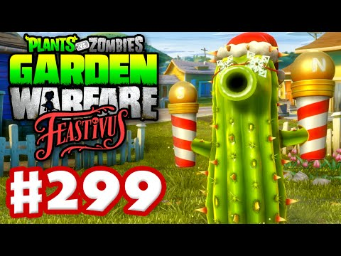 Plants vs. Zombies: Garden Warfare - Gameplay Walkthrough Part 299 - Feastivus Holiday Poles! (PC)