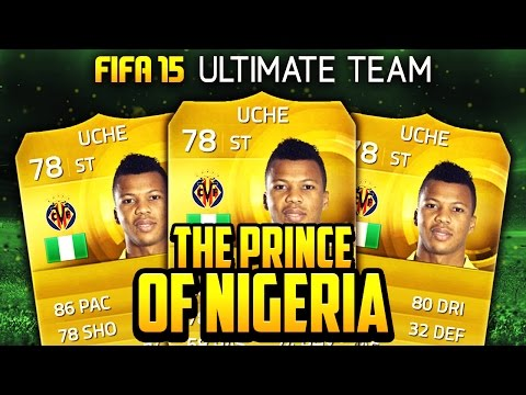 Fifa 15 - Overpowered Prince Of Nigeria - Squad Builder - Fifa 15 Ultimate Team video