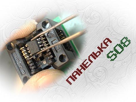 Панелька для программатора своими руками