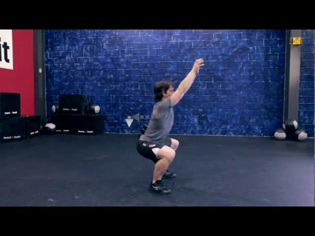 "Reebok CrossFit ONE Movement Demo ""Air Squat"""