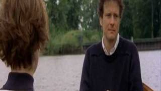 Bridget Jones and Mark Darcy - on the lake
