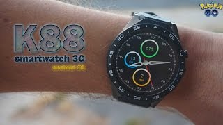 KINGWEAR KW88, smartwatch capaz de cargar POKEMON GO [Review]