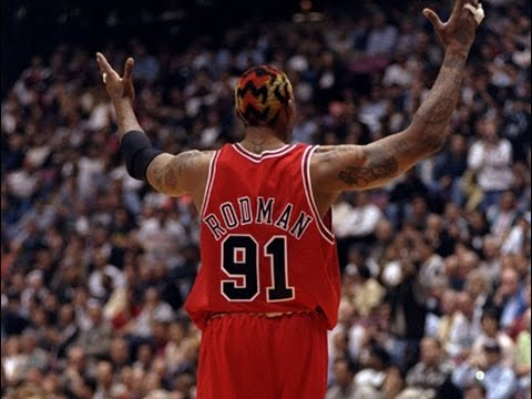 Dennis Rodman - Guarding 1 Through 5
