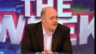 mock the week panel talking about the budget