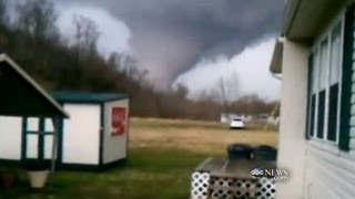Tornado Outbreak Caught on Tape