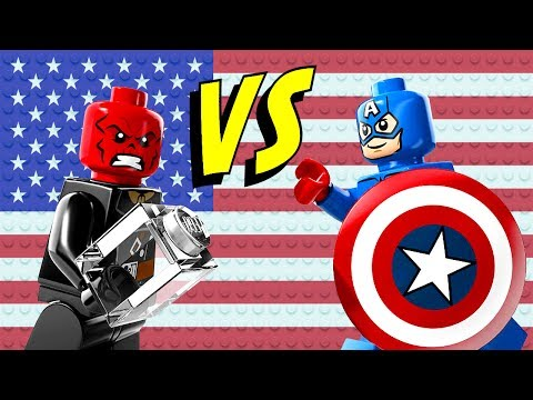 LEGO Captain America vs Hydra 76017 Marvel Super Heroes Build Review & Comparison