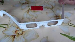 How to Make 3D Glasses for Free