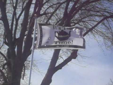 Tea Party Flags at http://www.itsteatime.org Video