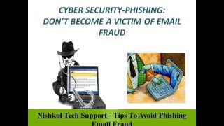 Nishkul Tech Support - Tips To Avoid Phishing Email Fraud