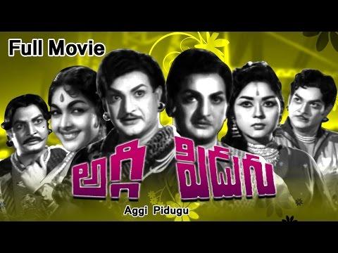 Aggi Pidugu Full Length Telugu Movie    Dvd Rip.. video