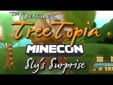 SLYS SURPRISE! - Creatures Minecon 2013 Panel