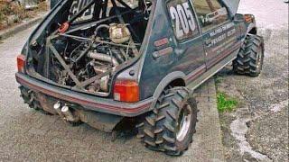 Maruti 800 modified (big wheels) in india (part 2)