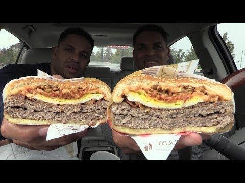 Eating Burger King Farmhouse King @hodgetwins thumbnail