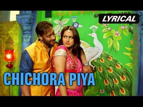 Chichora Piya (Lyrical Full Song) | Action Jackson | Ajay Devgn & Sonakshi Sinha