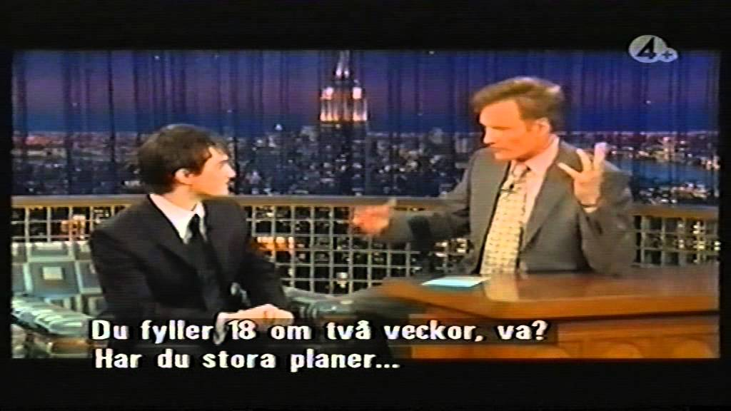 a transcript of conan obriens interview of the author jk rowling on the show late night with conan o Unanswered question on oprah in stephanie meyer interview the tonight show conan o'brien or that late night talk shows (the tonight show.